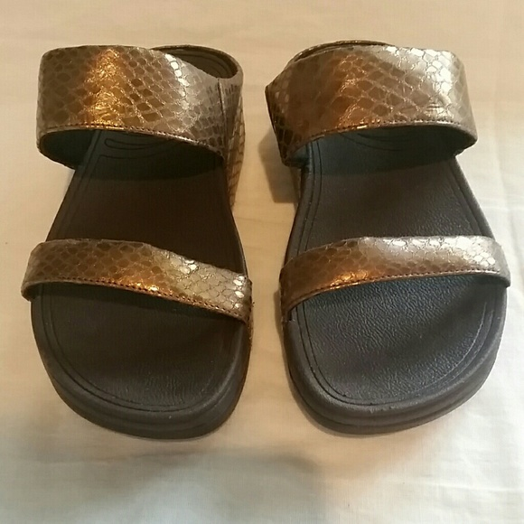 02c281eb5b0 Fitflop Shoes - Bronze Fitflop Sandals
