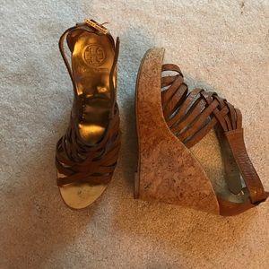 Tory Burch platform wedge sandal
