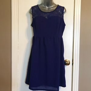 Runway Paris Royal Blue Dress