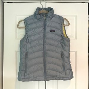 Patagonia down vest size small