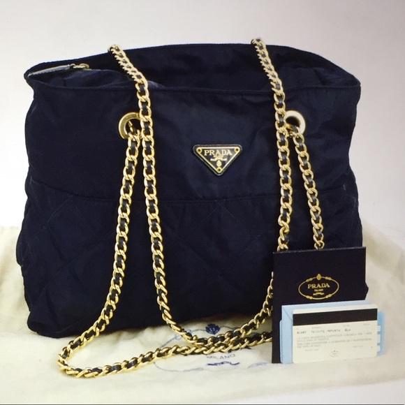 Prada Milano Logo Chain Shoulder Bag. M 59c819e75c12f86dc00369ee 6c06c29a90