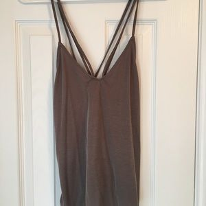 Urban Outfitters strappy cross back tank