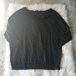 Oversized grey shirt
