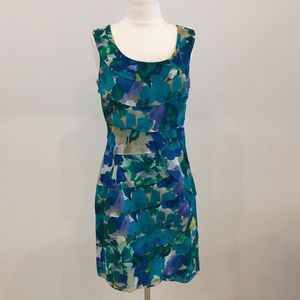 Calvin Klein Layered Print Dress