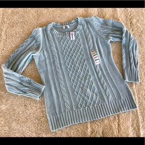 NWT old navy crew neck sweater size L