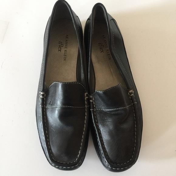 c1382992231 Anne Klein Shoes - Anne Klein iFlex Black Loafer Flat Shoes Size 9