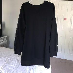 Londunn + Missguided Black Sweater Dress