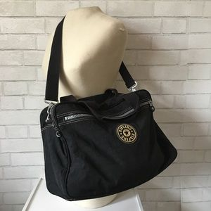 Kipling Adjustable Strap Classic Carry On Duffle