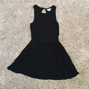 Cotton on black dress.