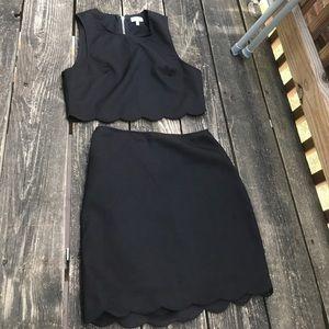 Black 2 piece set ✨✨✨