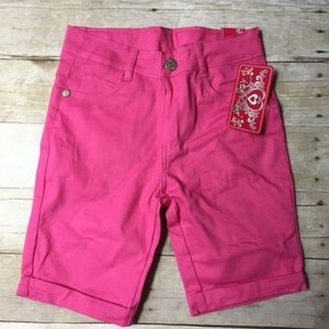 Real Love Hot Pink Shorts NWT