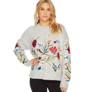 Romeo & Juliet Couture floral sweater