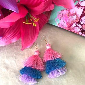 Jewelry - 🍭 New! Flirty Fun Candy Tassel Earrings