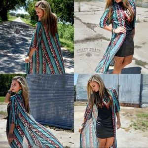 Turquoise Boutique Duster