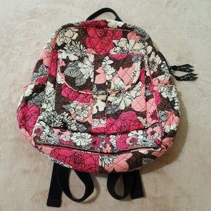 Vera Bradley Backpack / Book Bag.