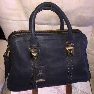 AIMEE KESTENBERG BLACK LEATHER handbag / crossbody