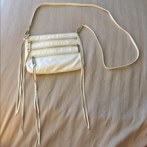 Rebecca Minkoff 3 zip cross body
