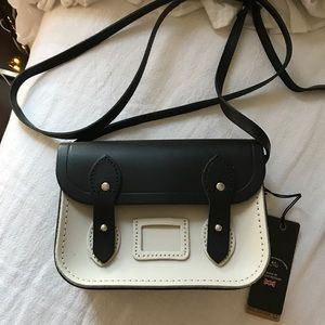 Tiny Leather Satchel