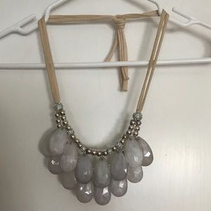 Anthropologie Tie Necklace