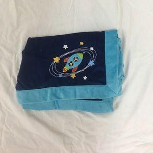 Other - BOGO Blue rocket 🚀 baby blanket