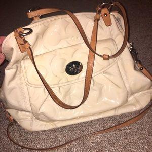 Coach Leah Tote Handbag