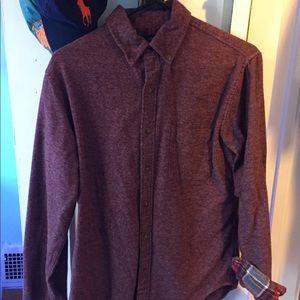 Lands' End Men's Flannel Shirt