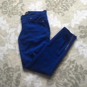 Forever 21 Royal Blue Jeans