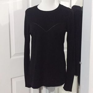 Vince Camuto Small Black Long Sleeve Shirt