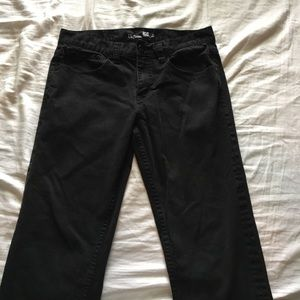 Other - Black slim straight jeans