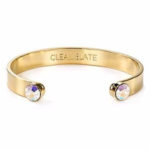 Clean slate bracelet