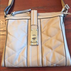 Jessica Simpson tan crossbody excellent condition