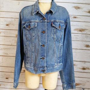 Levi's Blue Jean Button Up Jacket