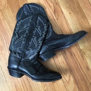 vintage j. chisholm cowboy/cowgirl boots