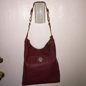 ISAAC MIZRAHI! Large tote leather bag