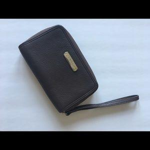 Cole Haan Leather Wallet Wristlet