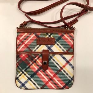 Dooney and Bourke Small Plaid Shoulder Bag