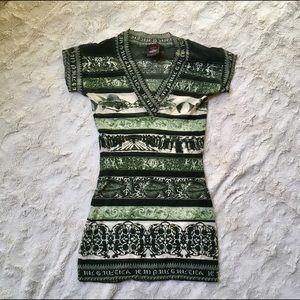 Vintage Jean Paul Gaultier Mesh Classique Shirt