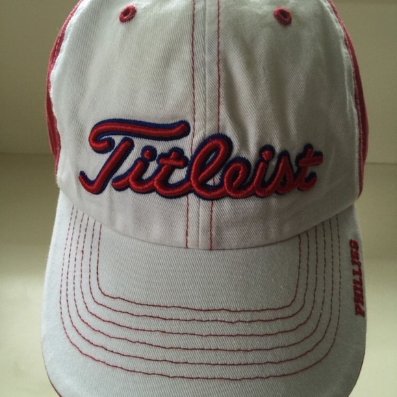 b610f7778f9 genuine merchandise Other - Titleist Phillies MLB Mens Golf Hat Baseball Cap