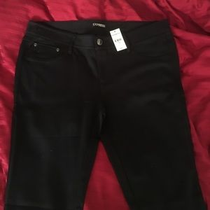 Black ponte pants! Perfect for fall!