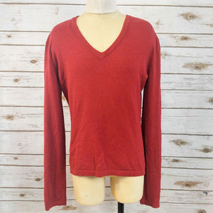 CAbi Red V-Neck Sweater