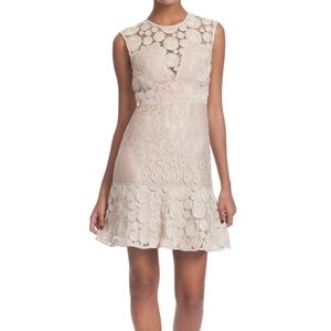 "Tracy Reese ""combo frock"" in bone"