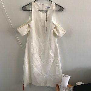 nwt n/Nicholas Australian Brand White OTS dress