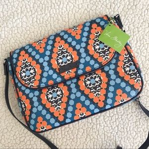NWT Vera Bradley Marrakesh Beads Flap Crossbody