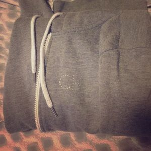 """gray """"CK"""" hoodie"""