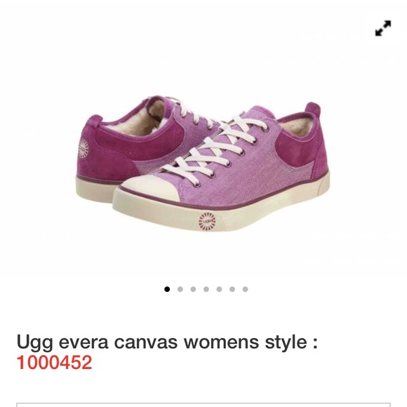 6c6ab9d1067 UGG Canvas Evera Sneakers in purple