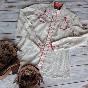 Amazing Tem Tex 70s Western shirt