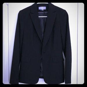 Calvin Klein 2 Piece Black Skirt Suit