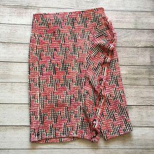 Anthropologie Eva Franco Fringed Tweed Skirt
