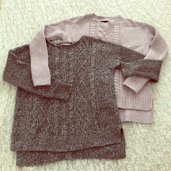 Gap Shirts Tops Old Navy Girls Sweaters Set Of 2 Poshmark