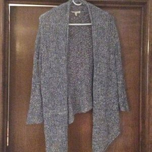 Eileen Fisher 100% cotton knotted cardigan